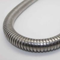 鍍鋅雙扣金屬軟管 P4型雙扣鍍鋅軟管 雙扣電線保護軟管
