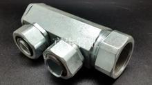 JSH-DAF包塑金屬軟管三通接頭F型三通接頭蛇皮管三通
