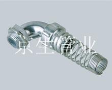DWT90°彈簧管接頭_金屬軟管接頭 江蘇京生管業有限公司