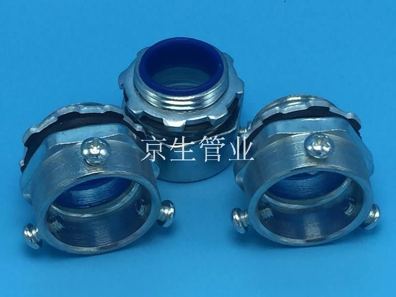 JSF-DPG-C鋼管箱接頭 鋼管盒接頭 鋼管外絲接頭 鋼管三柱箱接頭